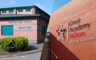 School Hire Fairfield High Great Academy Ashton Active Tameside