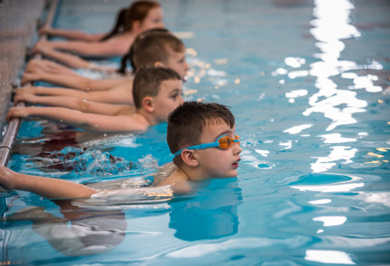 Swimming lessons with Active Tameside