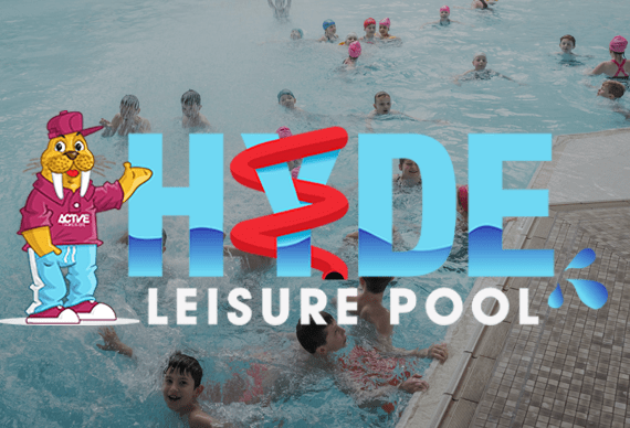 HYDE Leisure Pool Tameside Swimming Kids Active