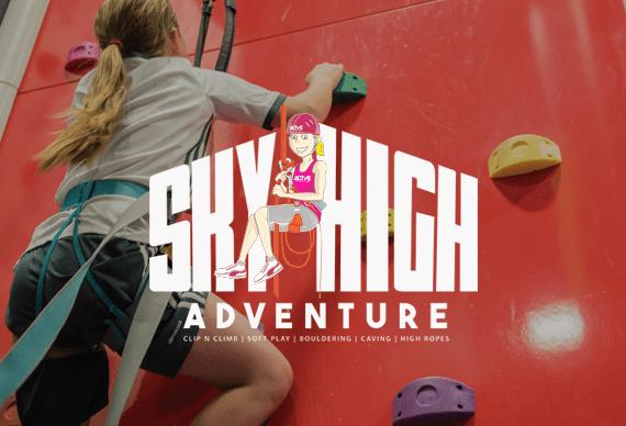 Sky HighAdventure Attractions Kids Active Tameside