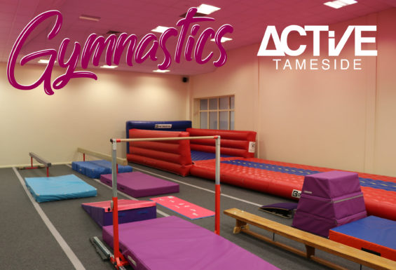 Upstairs gymnastics room at Active Ken Ward