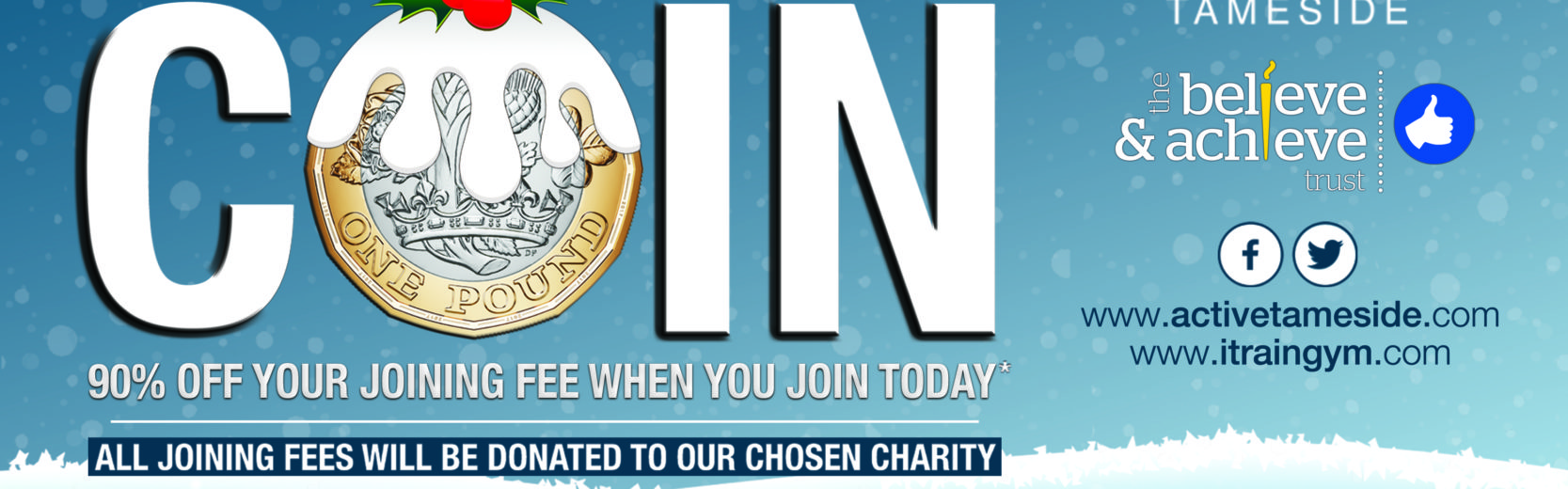Join for a Coin with Active Tameside