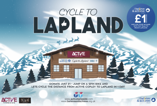 Cycle to Lapland charity event