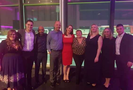 Team Tameside at the Greater Manchester Sports Awards