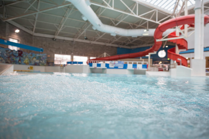 Swimming at Hyde Leisure Pool