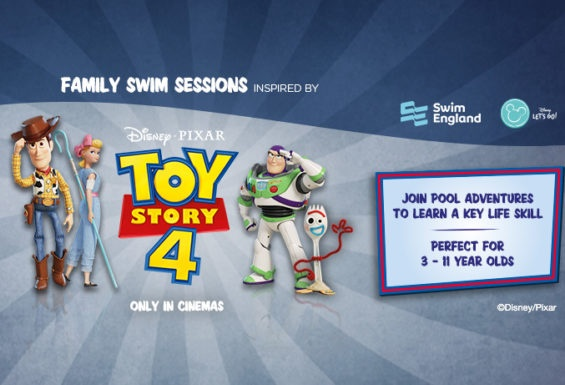 Disney swimming sessions at Active Hyde
