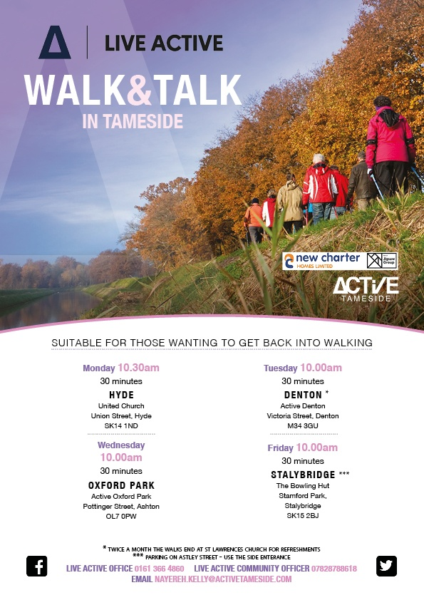 Walk And Talk Active Tameside