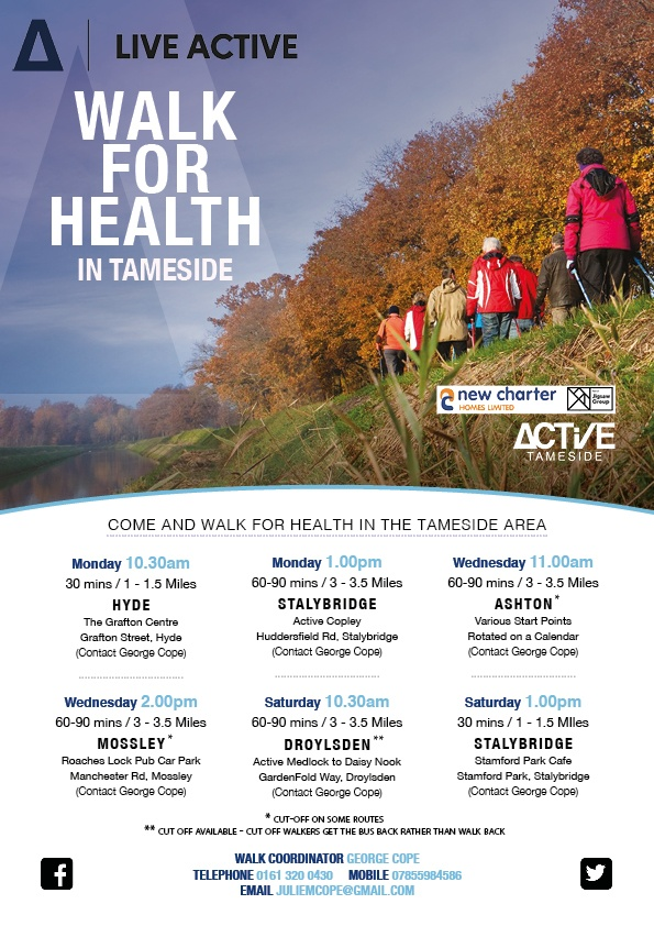 Health Walks Active Tameside