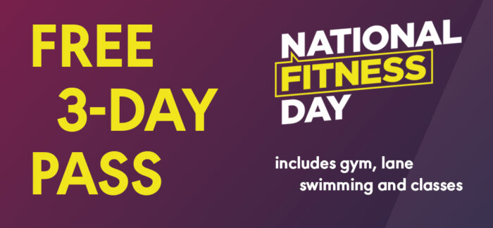 Free 3 day pass at Active Tameside