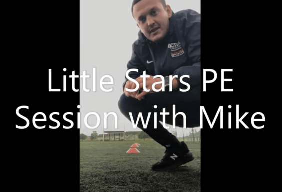 Little Stars PE Lesson with Mike